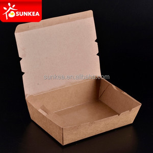 Disposable food packing lunch boxes, deli boxes, food grade cardboard box supplier