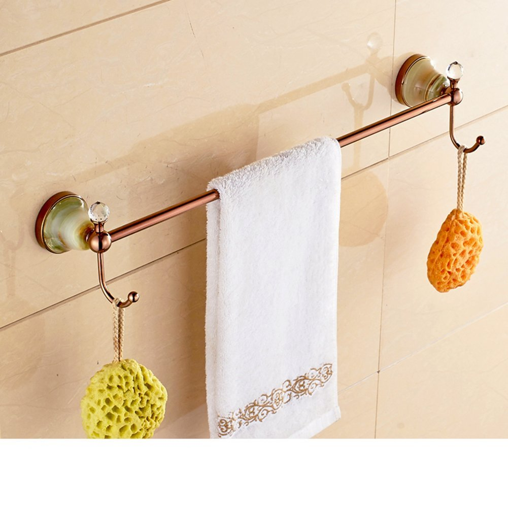 Cheap white ceramic towel bar find white ceramic towel bar deals on get quotations copper blue and white porcelain rodtowel racktowel bar gold plated dailygadgetfo Images