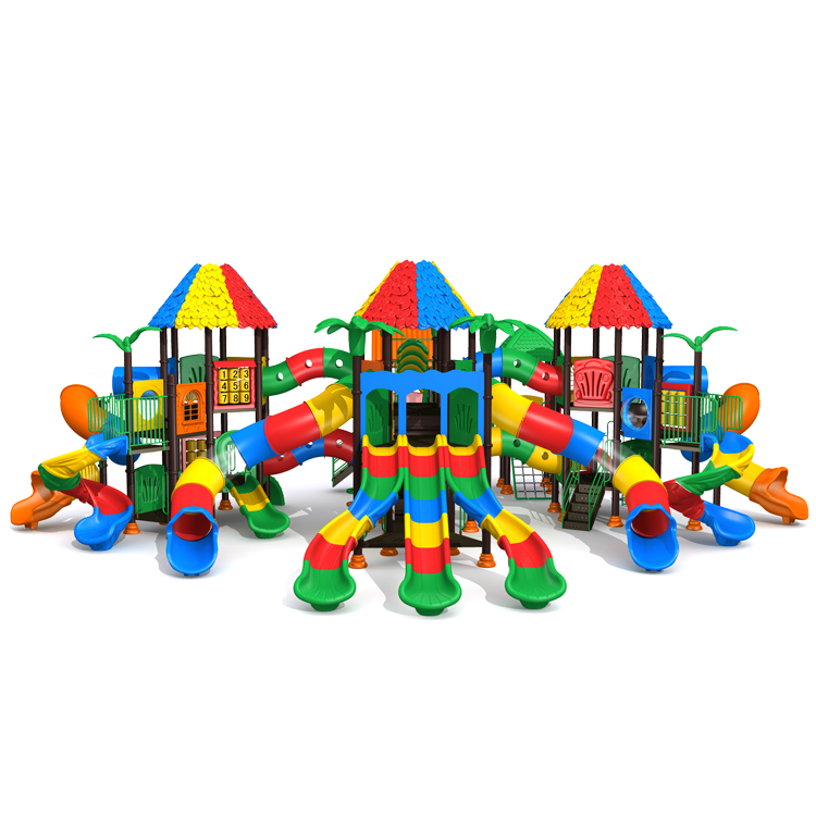 Outdoor playground Kids Playhouse Classic Castle Series KP-TQ-CB108