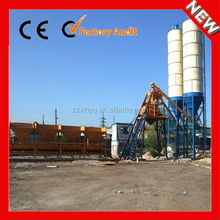 HZS25 concrete mixing plant with 60t cement silo