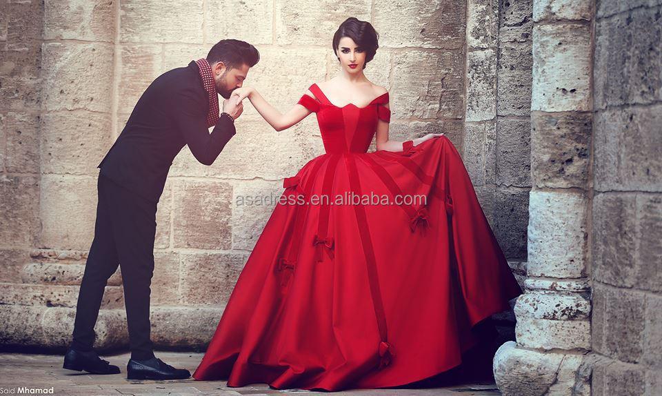 Vintage Red Dresses