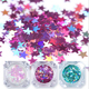 China supply 3mm PET star shape glitter for DIY Letters&Crafts