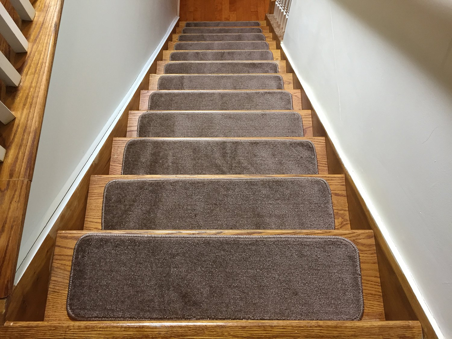 Get Quotations Euro Collection Stair Treads Indoor Skid Slip Resistant Carpet Tread 8 ½ Inch X