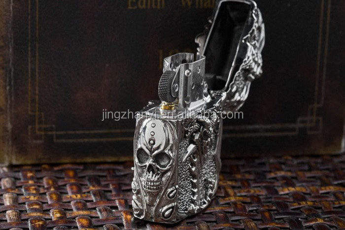2015 high end metal lighter covers , Spring Festival 's gift
