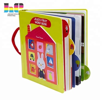 Hot sale costom kids story English reading books children hardcover book printing