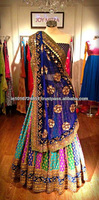 Indian Designer Multicolor Lehenga Choli 2017