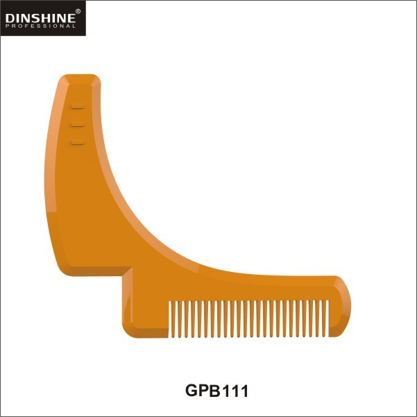 hot sell best selling plastic coloring beard Shaping trimming tool
