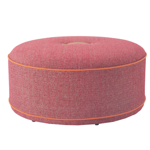 Nisco ottomans with fabric cover and memory foam