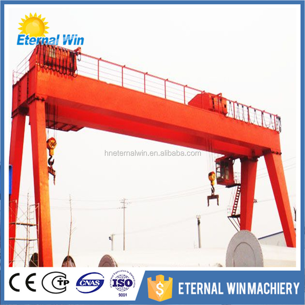A Frame Electric Hoist Gantry Crane 40 Ton Price - Buy Electric ...