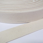 50mm off white cotton belt craft strap