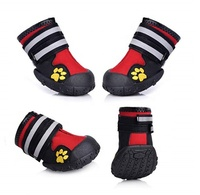 wholesale pet accessories canvas dog shoes non slip black jean dog sneakers dog boots