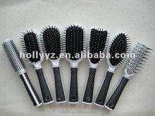 Hot sale good quality hair brush with hair straightening comb