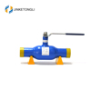 JKTL hot sale full welded ansi class 600 integral ball valve 30 steam