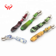 Fashion bag luggage accessories fancy silicone paracord rope nylon wholesale custom soft rubber zipper pull charms zip puller