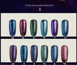 Hot sale nail art beauty sok off uv gel nail polish changing color neon euro nail