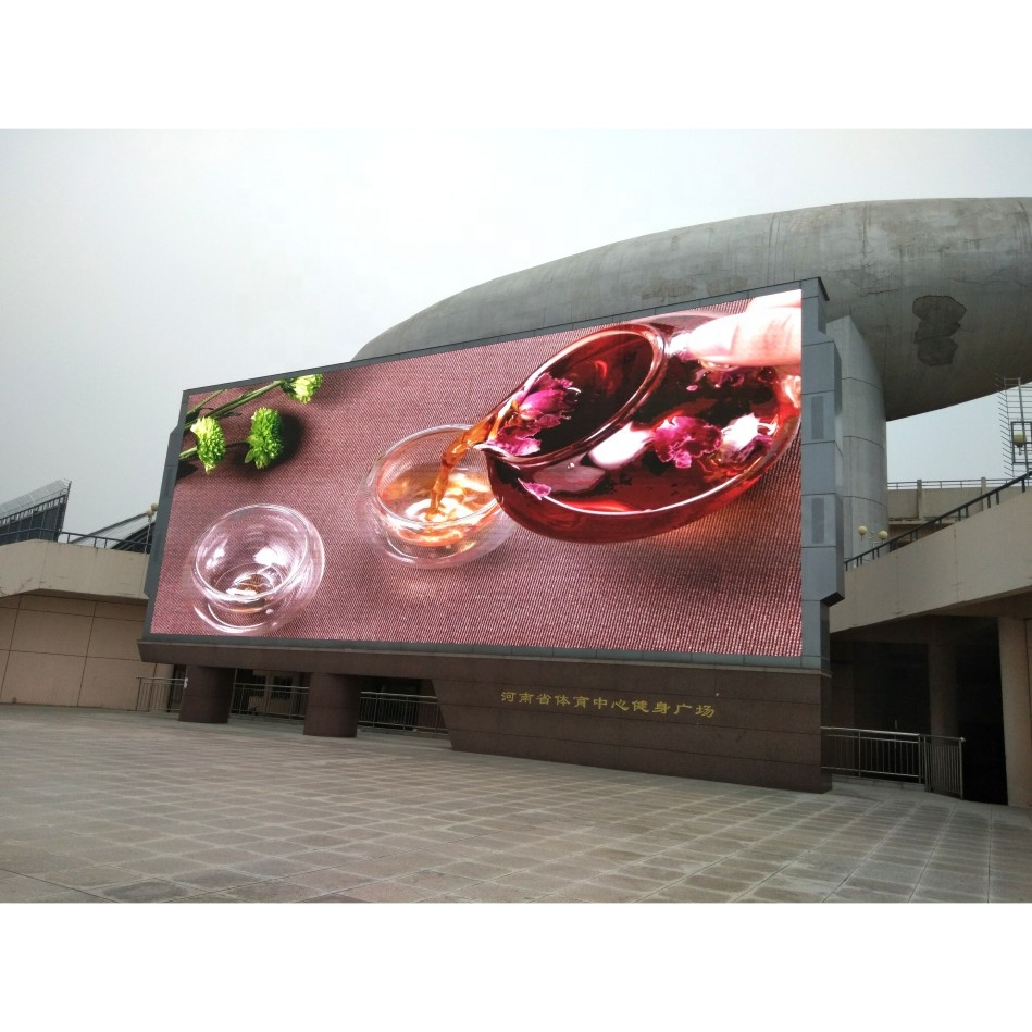 Digitale Programmabile Led Display Cartellone Banner Bordo, di Colore Completo Pubblicità Esterna Flessibile Display A Led Elettronico