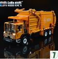 Sanitation trucks Garbage trucks 1 24 car model diecast alloy origin kids toy KDW 625040 620040