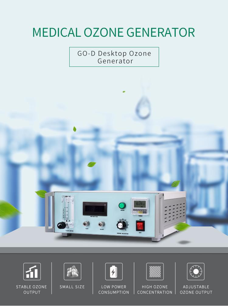 Tıbbi ozon arıtma makinesi 2 ~ 6G kan sterilizasyon için ozon jeneratörü