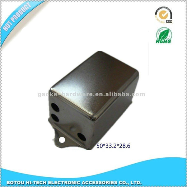 iron material RFI filter box ,EMC filter box with nickel plating