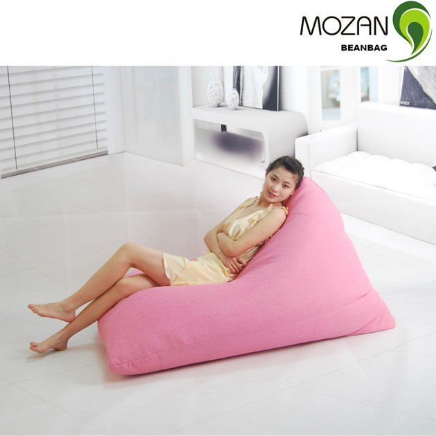 Triangle Beanbag Lazy Chair Adult Bean Bag Chairs Bulk