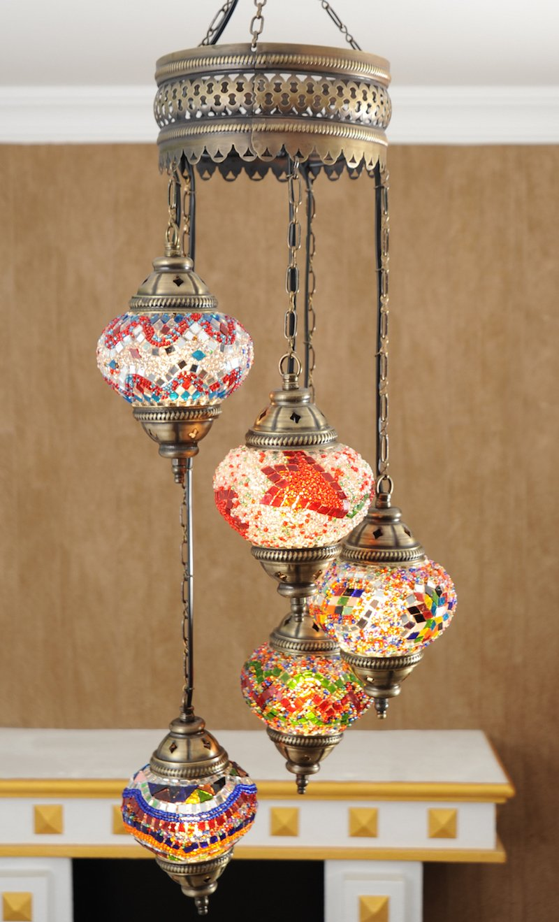 Mosaic Lamps Turkish Lamp Moroccan Chandeliers Pendant Lights Hanging