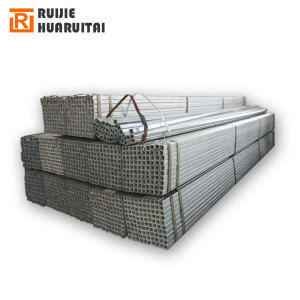 100 x 100 GI Tube, Pre galvanized thin wall square steel tube thickness 1.5mm price per ton