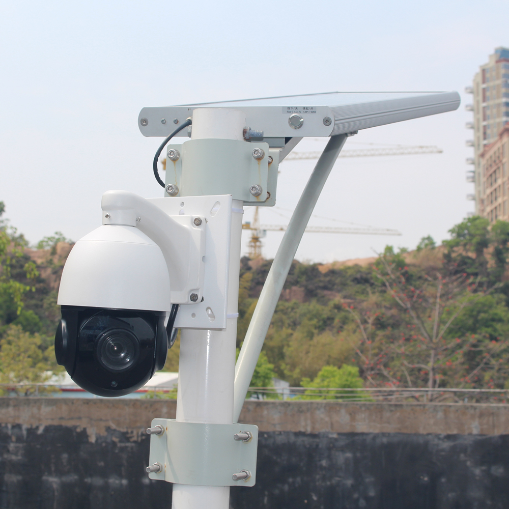 GOING tech integrated solar cctv camera 4G 3G sim card slot surveillance with 128G video recording sony 291 sensor