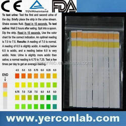 urine test paper pH strip,CE ISO FDA