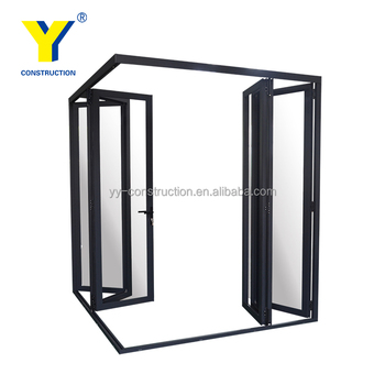 Charmant Aluminium Glass Door Design Living Room Bifold Glass Doors Balcony Sliding  Doors   Buy Aluminium Folding Glass Door,Balcony Sliding Glass Door,Bifold  ...