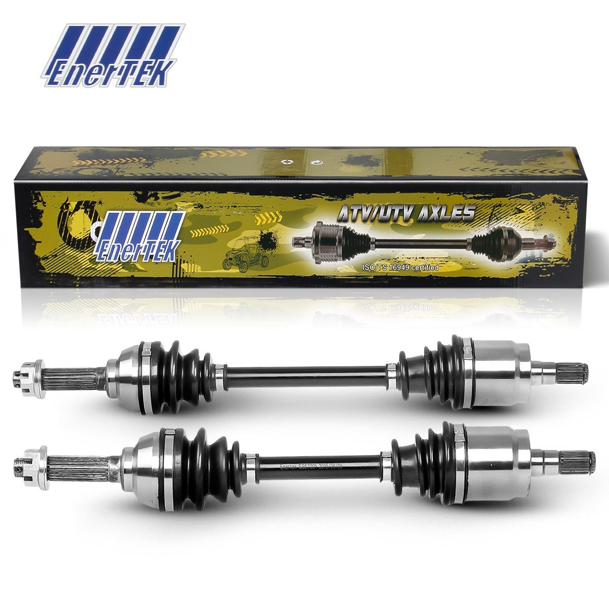 Suzuki King Quad 400 Front Left Right CV Axle Joint Drive Shaft Assembly Set 2008 2009 2010 2011 2012 2013 2014 2015