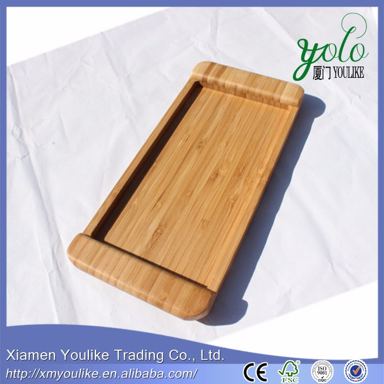 easy holder The food tray bamboo tea tray tea fruit dish
