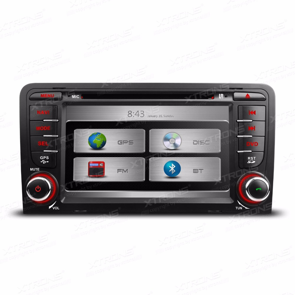 7 hd 2din car gps dvd player for audi a3 touch screen car. Black Bedroom Furniture Sets. Home Design Ideas