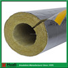 online shopping supplier fire resistant mineral fiber rock wool pipe with aluminum foil
