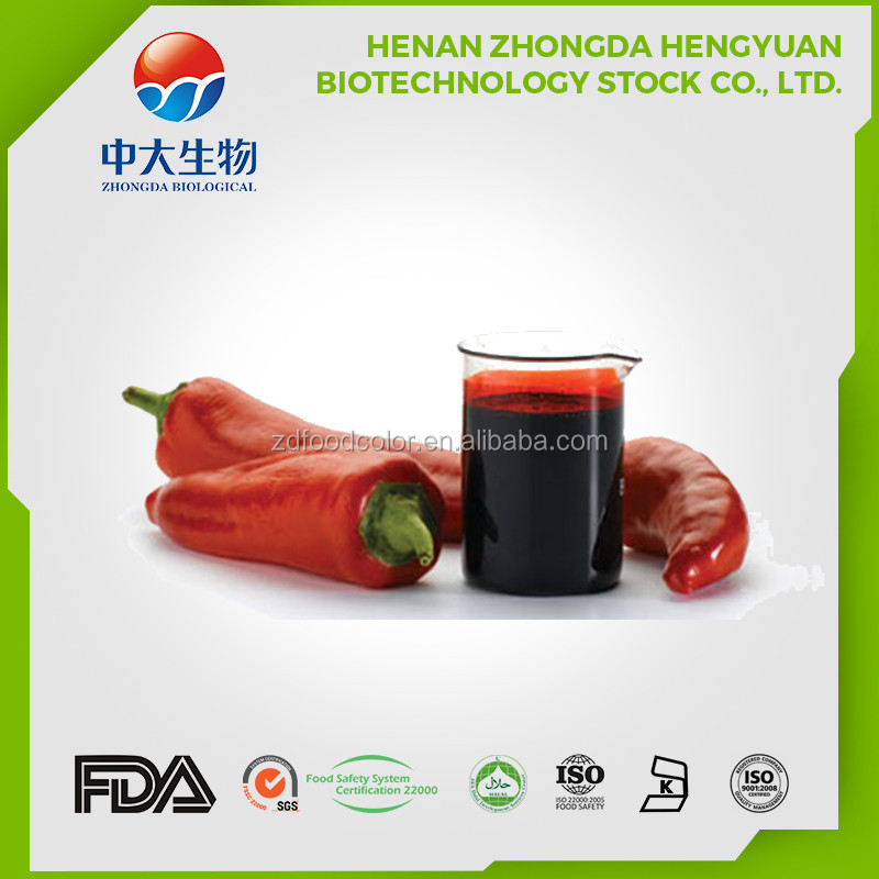 Natural colors factory paprika oleoresin red