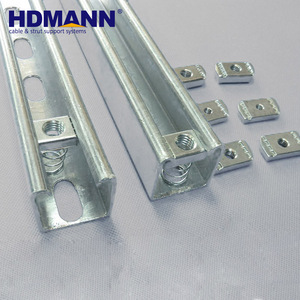 Good Quality Strong Building Material GI Unistrut Channel Bracket Prices