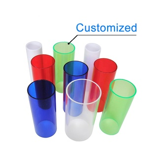 Chengming Wholesale Clear Transparent Pc Polycarbonate Tube Pipe For Led Light