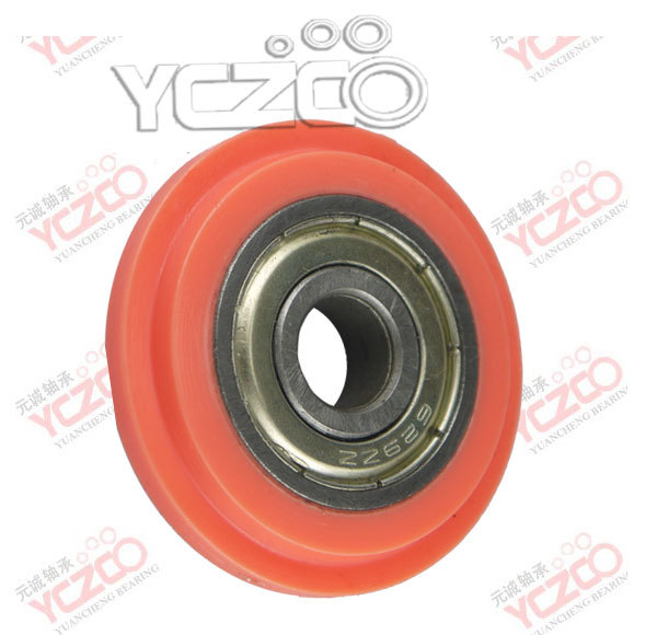 Closet Round And Wheels For Sliding Cabinet V Groove