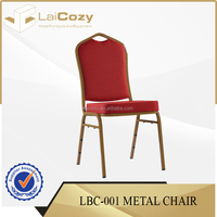 Banqueting used dining chairs/aluminium banquet chairs/ hotel antique banquet dining chair