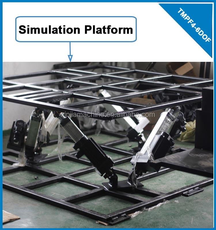 6 Dof 220ac Servo Motor Actuator For Flight Simulator/ Driver Simulation  Platform Tmpf4-6dof - Buy Driver Simulation,Simulation Platform,Flight