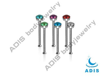 Nostril Straightcz Nose Bonenose Stud Piercing Buy Straight Nose