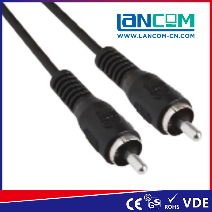 LANCOM AV201-11N 2017 hot sale OD 2.8mm rca to firewire cable