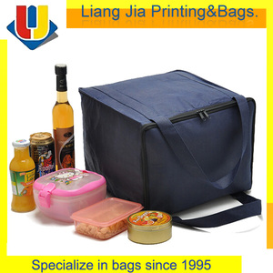 Lunch Insulated Cooler Bag For Frozen Food With Back Strap