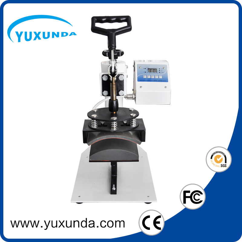 Yuxunda ce certtificate Digital 5 in 1 Capping Machine for kids and adult hat heat press machine for sale