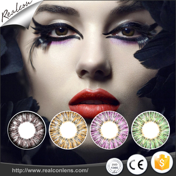 Realcon Wholesale big eyes contact lenses color contact lenses Sweety contact lenses