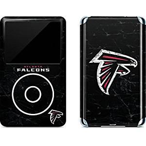 NFL Atlanta Falcons iPod Classic (6th Gen) 80 & 160GB Skin - Atlanta Falcons Distressed Vinyl Decal Skin For Your iPod Classic (6th Gen) 80 & 160GB