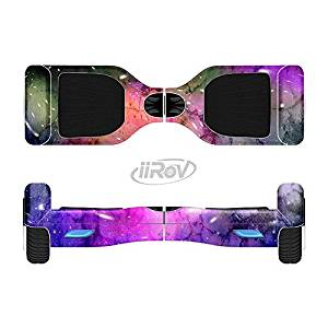 The Warped Neon Color-Splosion Full-Body Wrap Skin Kit for the iiRov HoverBoards and other Scooter (HOVERBOARD NOT INCLUDED)