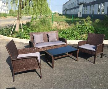 Miraculous 4 Piece Outdoor Rattan Wicker Loveseat And Chair Set Buy Rattan Sofa Set Outdoor Rattan Set Rattan Dining Set Product On Alibaba Com Alphanode Cool Chair Designs And Ideas Alphanodeonline