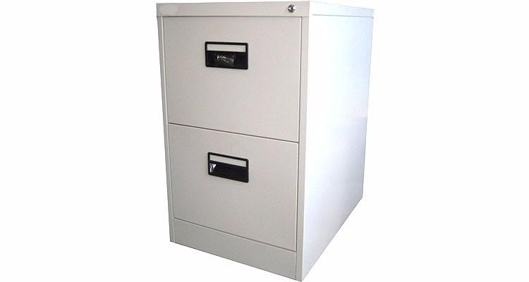Schedario Ufficio Nero : Di alta qualità in acciaio inox 2 cassetti schedario verticale