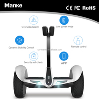 Manless control new type 10.5 inch pneumatic tyre 54V M1 portable electric scooter hoverboard APP self balancing function