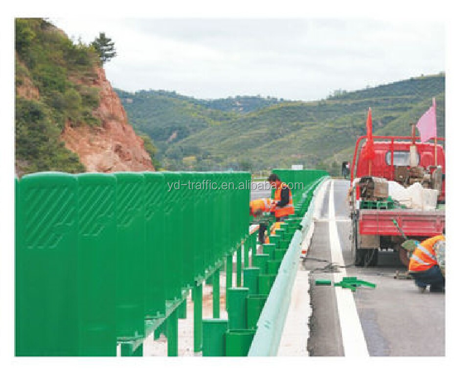 All Size Traffic Safety Guardrail Reflector Highway Anti Dazzle Board